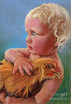 His Pet Hen by Jan Gibson