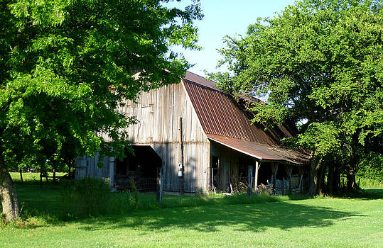 Historic Barn by Kay Sparks