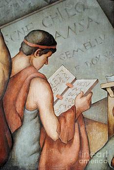 Jost Houk - Historic Book in Stone