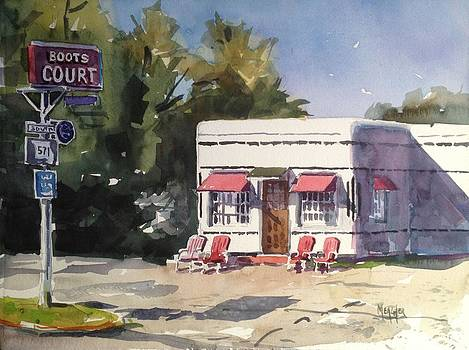 Historic Boots Court Carthage MO by Spencer Meagher