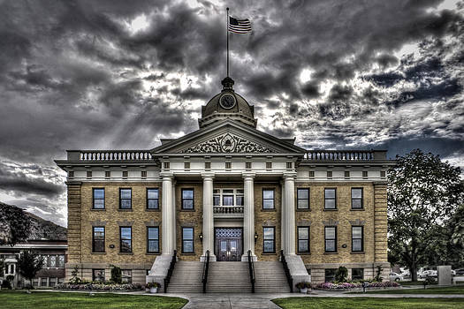 Historic Courthouse by Jim Speth