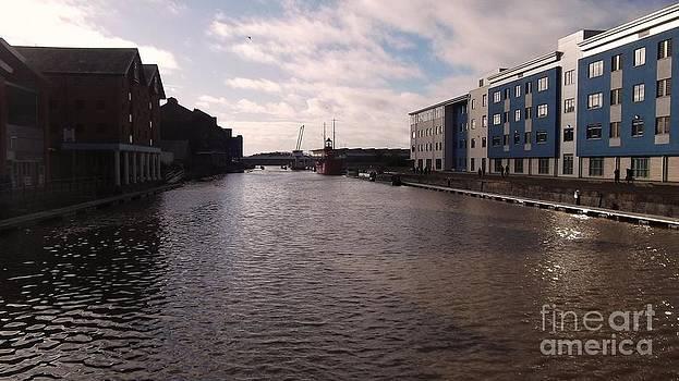 Historic Gloucester Docks 1 by John Williams