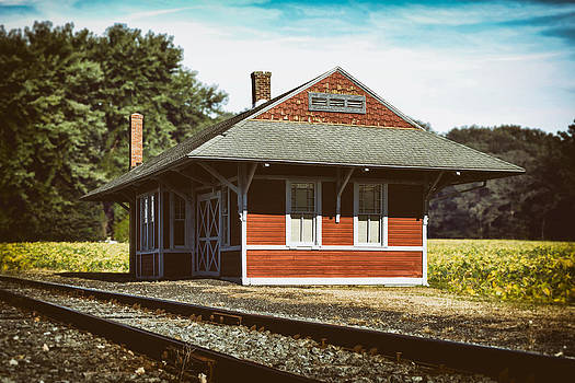 Bill Swartwout Fine Art Photography - Historic Greenwood Railroad Station