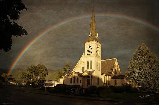 Mick Anderson - Historic Methodist Church in Rainbow Light