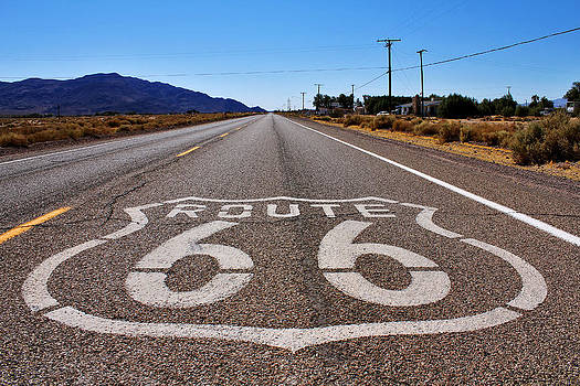 Historic Route 66 by Cedric Darrigrand