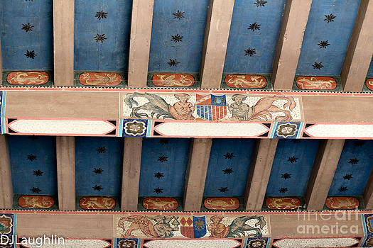 Historic Spanish Ceiling  by DJ Laughlin