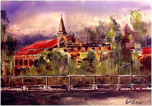 Historical Palace of Pakistan by Malik Tariq