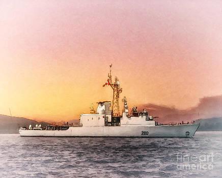 HMCS Iroquois by Shawna Mac by Shawna Mac