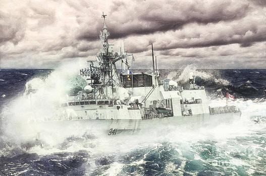 HMCS Ottawa by Shawna Mac