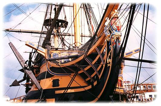 HMS Victory by Geoff Cooper