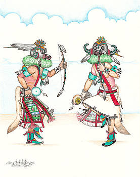 Ho-ote Kachinas by Dalton James