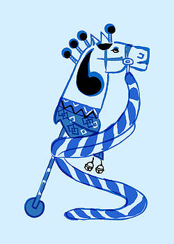 Nancy Lorene - HOBBY HORSE True Blue