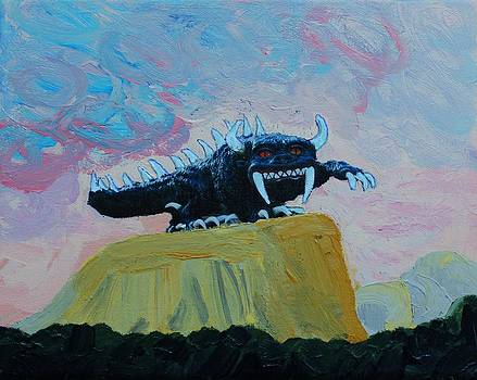 Hodag Visits the Southwest by Ann Laase Bailey