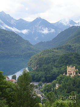 Danielle Groenen - Hohenschwangau Castle with Lake