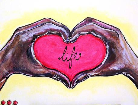 Holding Life by Carrie Todd