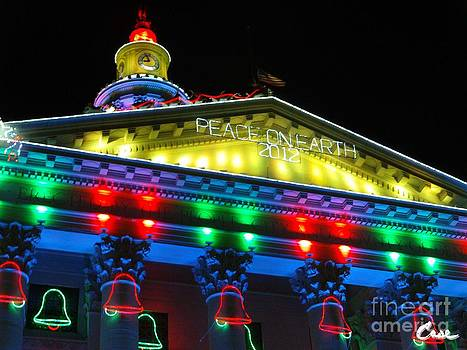 Feile Case - Holiday Lights 2012 Denver City and County Building L5