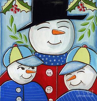 Holiday Portrait by Elaine Jackson