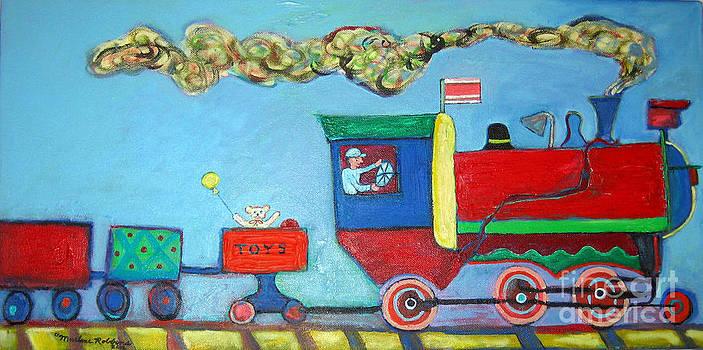 Holiday Train by Marlene Robbins