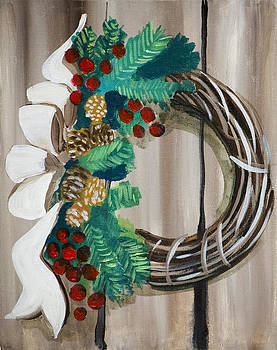 Holiday Wreath 2 by Richard Fritz
