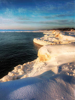 Holland Michigan Beach Shoreline by Jenny Ellen Photography