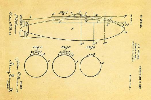 Ian Monk - Holland Submarine Patent  Art 1902