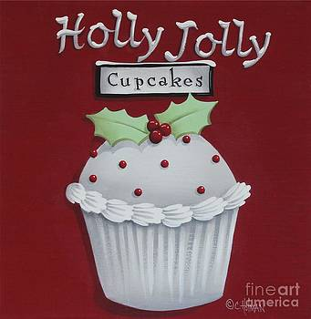 Holly Jolly Cupcakes by Catherine Holman