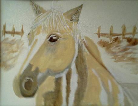Hollyhock by Ann Whitfield