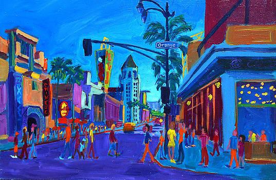 Hollywood and Orange by Sean Boyce