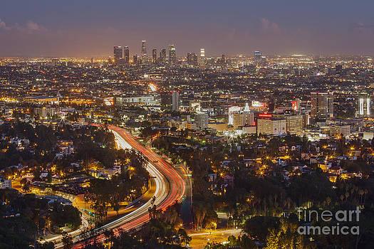 Hollywood Bowl Overlook by Shishir Sathe