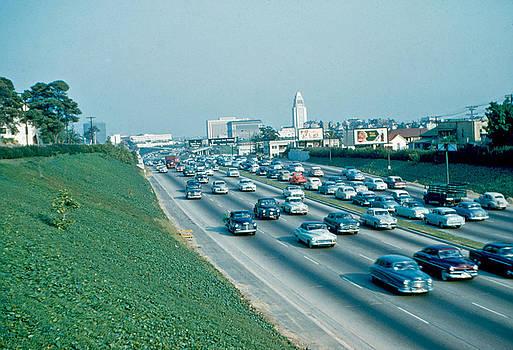Hollywood Freeway 2 1954 by Cumberland Warden