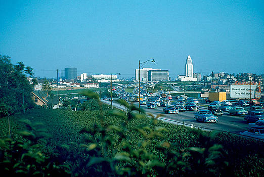 Hollywood Freeway 3 1954 by Cumberland Warden