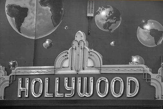 Art Block Collections - Hollywood Landmarks - Hollywood Theater Marquee