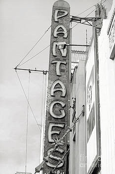 Art Block Collections - Hollywood Landmarks - Pantages Theater