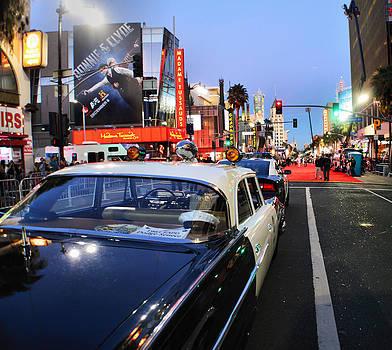 Cindy Nunn - Hollywood Parade at Night
