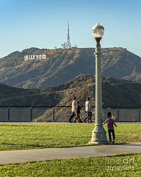 Hollywood Sign from Griffith by Clear Sky Images