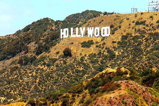 Hollywood Sign by Gary Dunkel