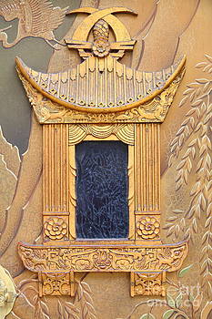 Wingsdomain Art and Photography - Hollywood TCL Chinese Theatre Main Entrance Doors 5D29006