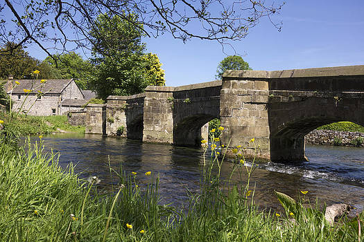 Holme Bridge Bakewell. by Mark Richardson
