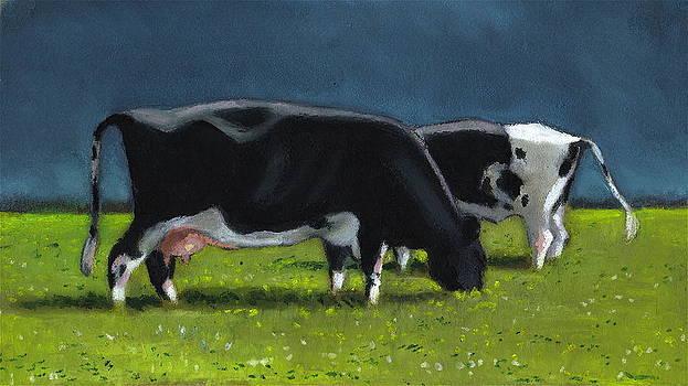 Joyce Geleynse - Holsteins Grazing