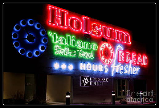 Holsum Neon Las Vegas by Kip Krause