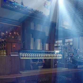 Holy Beer Taps Batman by Richard Hinds