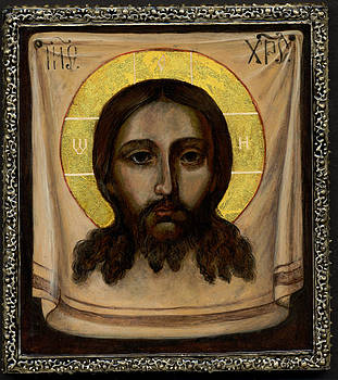 Holy Face Image - Not Made By Hands by Fr Barney Deane