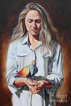Holy Spirit by Ilse Kleyn