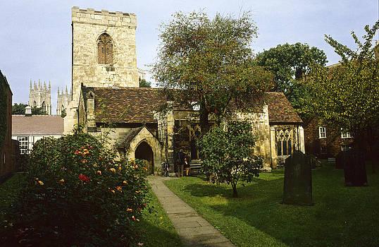 Holy Trinity Church York UK by David Davies