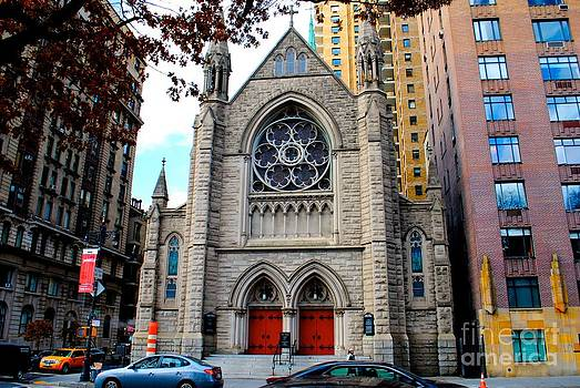 Holy Trinity Lutheran Church in NYC by Parker O'Donnell
