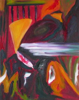 Homage To Kandinsky by Marge Healy