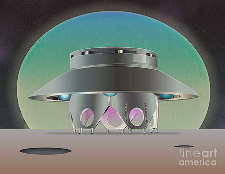 Home Base-The Invaders by Michael Lovell