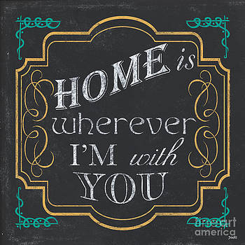 Home is... by Debbie DeWitt