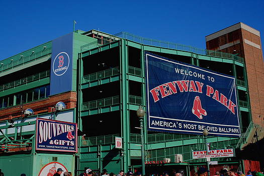 Home Sweet Fenway by Stephen Melcher