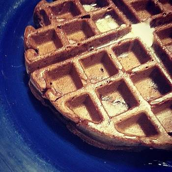 Homemade Gf Chocolate Waffles by Malcolm Van Atta III